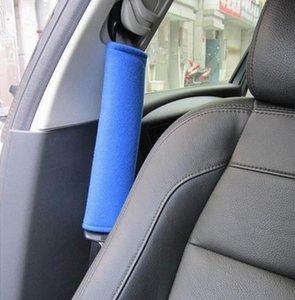 2 шт безопасности автомобиля Seatbelt оплечье Плечо Cushions ремня автомобиля Автомобиль мягкий плюш Авто Seatbelt ремень Harness Обложка # p4