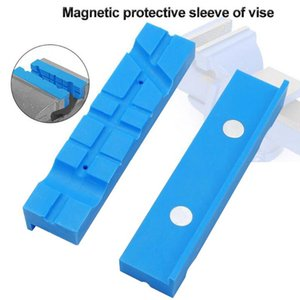 Bench Vice Jaw Pad Multi-groove Vise Holder Grips For Milling Cutter For Drilling Machine Accessories Woodworking Jewelry Making