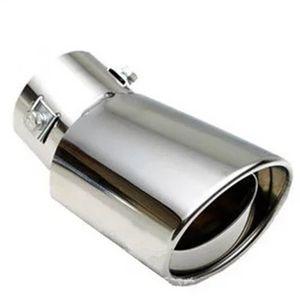 العادم كاتم الصوت ضبط Exaust تلميح الخمار سيارة ليزر تدفق عالية الأداء العادم الأنابيب العميق لهجة نصيحة الفوهات ل