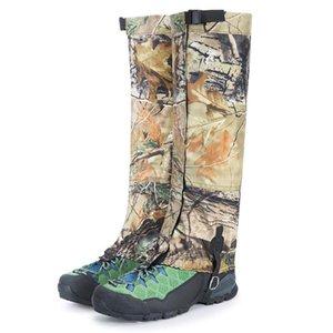Camuflagem ao ar livre Legging Polainas Acessórios de escalada Elastic Caminhadas Ski Ski Shoe Cover