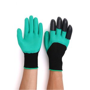 free shipping Digging paw Garden gloves outdoor dipping garden planting universal protective labor protection gloves factory wholesale