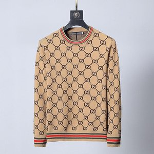 2020 France Mens Stylist Sweaters Letter Printed Sweatshirts Men Women Streetwear Stylist Sweaters 8 Colors M-3XL