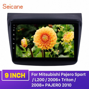 Seicane Android 9.0 GPS voiture Head Unit Player 9 pour Mitsubishi Pajero Sport / L200 / 2006 + Triton / 2008 + PAJERO 2010 Soutien carplay voiture DVD de #
