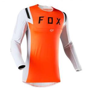 FOX 2020 Modelo Explosivo TLD de descenso Ropa de aluminio de ciclo Jersey Gran manga larga del motocrós que compite con la camiseta