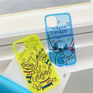Cartoon mobile phone case is suitable for iPhone 11 promax Apple x R   8plus soft cover silicone 7plus