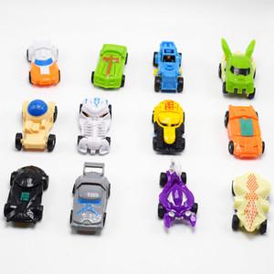 12 أنماط الجمعية البيض للتغيير الجبهة السيارات العودة روبوت اللعب الإعصار السوبر ميني تحوير سيارة رياضية 5.5CM لعب L307