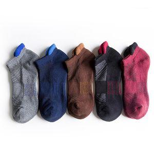 Atlética del calcetín del deslizador de color para hombre con paneles de diseñador para hombre Calcetines de malla transpirable calcetines sudor informal al aire libre absorbente