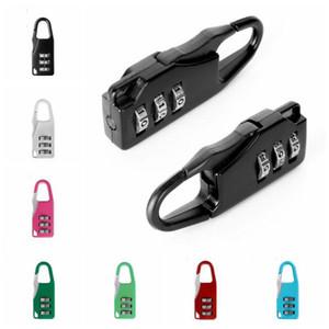 3 البسيطة الطلب أرقام قفل الأمان للسفر المأمون قفل عدد رمز قفل كلمة الجمع بين لقفل الأمتعة قفل من رياضة LXL1260-L