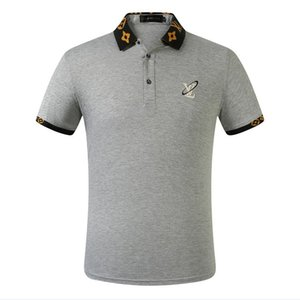 HOT 2020 designer polo Fashionable outdoor leisure comfortable men Polo shirt and embroidery 100% cotton shirt