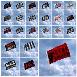 150 * 90cm Non riesco a respirare Flag American Flag 23 stili di vita Il nero è anche importante bandierina del poliestere Tessuti DHB261