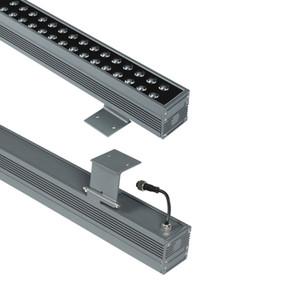 Doppia fila Wall Washer luci a LED, Light Bar 48W In LED, 6000K luce del giorno esterna impermeabile / Display Bar For Art Indoor