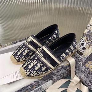 Dior piattaforma di epoca sandalo scarpe firmate lusso Espadrillas scarpe da donna di marca plate-forme scarpe pescatore sandale luxe formato 35-41 MK03