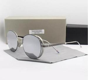 NOVA Moda Thom marca óculos de sol TB106 UVA / UVB protectiondecoration para homens e mulheres tb 106 Moda com o caso original oculos