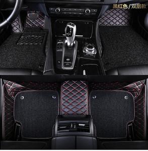 마쓰다 자동차 바닥 매트 2/3/5/6/8 Axela Atenza RUIYI CX-4 CX-5 CX-7 CX-9 3D 자동차 스타일링 맞춤형 카펫 바닥재 라이너
