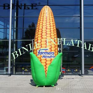Personnalisé extérieur modèle de maïs géant gonflable artificiel avec le logo de la publicité