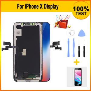 Новое премиум качества Aftermarket TFT LCD экран для iPhone X отображения замены с 3D сенсорным экраном