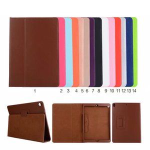 Folio Litchi Flip PU Leather Stand Case Smart Cover For ipad 234 Air 5 6 Mini 1234 New ipad 10.2 inch 7th Gen 2019 2017 2018