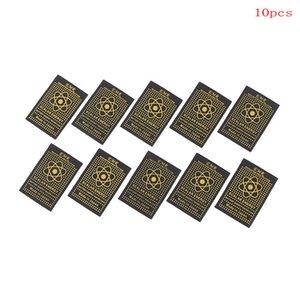 Acessórios para celular Mobile Phone Etiqueta Voltar Flim 10pcs EMR adesivo energia escalar chip de anti radiação saúde escudo keep