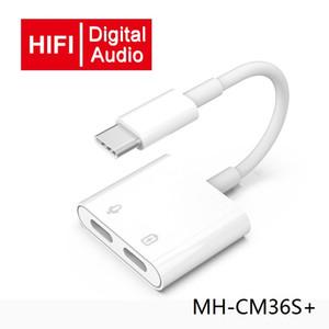 MH-CM36S P Adapter Tipo C para Type-C Áudio n Tipo C carregamento conversor PD Fast Charge Música Ouça fio de cobre de transmissão de dados Connector