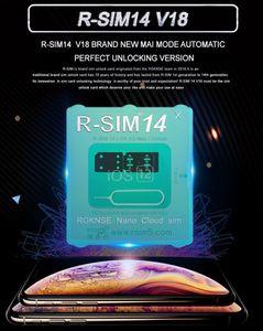 R-SIM 14 V18 Version R Sim14 RSIM14 RSIM for iphone 11 XS MAX 8 7 IOS12.X ICCID Unlocking Sim Unlock Card R-SIM14