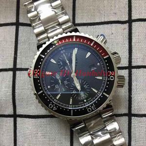 Orologio di Lusso reloj de los hombres de alta calidad caja de acero inoxidable staffel metal bisel giratorio Luxusuhr relojes movimiento cronógrafo de cuarzo