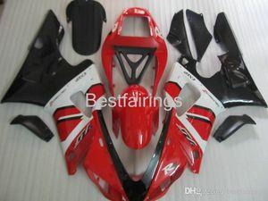 ZXMOTOR Kit carena di alta qualità per carene YAMAHA R1 1998 1999 bianco rosso nero YZF R1 98 99 5M87