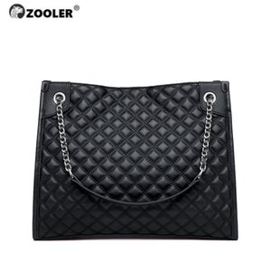 Ausschließlich echten Leder-Frauen-Schulter-Beutel aus weichem Leder-Handtasche Damentasche gesteppte elegante schwarze Frau Taschen # QS226