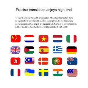 Портативный смарт-Voice Speech Translator Two-Way в режиме реального времени 30 Multi-Язык перевода для обучения Путешествуя Business Meeting