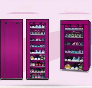 10layers toile non tissé chaussures réglable Rack Cabinet de stockage permanent Organiser