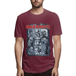Iron Maiden T Shirt cute shirts Wildest Dreams Vortex Band Logo Official Mens New Black Shirts Graphic Shirt s5708