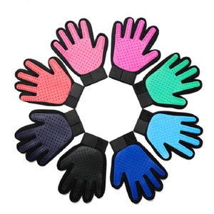 Pet Dog Grooming Cleaning Brush Gloves Dog Puppy Silicone Hair Removal Combs Pet Animal Dog Deshedding Massage BathIing Supplies