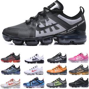 2019 mens Run Utility preto antracite running shoes para homens triplo Borgonha Crush designer trainers sports sneakers Médio Azeitona