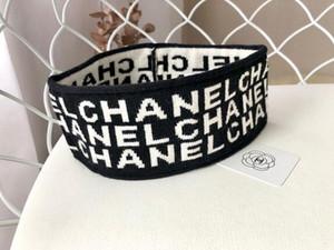 Tasarımcılar Unisex bantlar marka bantlar Kafa Eşarp mektubu Yıldız tarzı saç bantları etiketi ile kız hediyeler Için (11 stil)