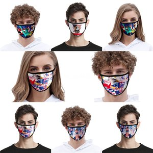 Stok Siyah Mavi # QA713 3 50 1 Adet Katman Yüz Maskeleri kulak halkalarına Evde Kullanım Rahat Ağız Kayak Maske Designer Nakliye VCCS 50 1pcs