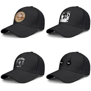 Men's and women's baseball caps daddy designer personalized fashion trucker hat Alice Cooper Furnier eye rock detroit mi Black white