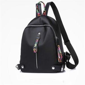 Designer Marca Couro Mochila para Mulheres Meninas Grande Capacidade Nylon Mochilas com alta qualidade Back Pack Drop Shipping
