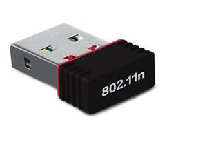 USB Dongle Wifi 802.11n 150 ميغابت في الثانية IEEE - بطاقة شبكة لاسلكية للمحول لأجهزة الكمبيوتر الشخصية MAC Windows