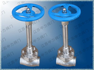 DJ61F-16P low temperature stop valve