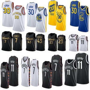 Stephen ncaa 30 Jersey Curry Kevin Durant 7 11 Irving Pascal 43 Siakam Fred 23 VanVleet Kyle Lowry 7 Men College Basketball Maillots