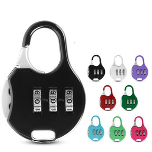 Mini Lucchetto Esterni Locker Security metallo Lucchetto Student Zaino Valigia cancelleria password Lock Home Dector LXL748-1