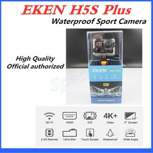 New Arrival Original EKEN H5S plus Waterproof DV EIS Native 4K Ultra HD Sports Camera WIFI HDMI 170 Wide Angle 2.4G Remote