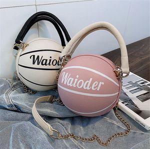 Top Quality Calf Skin Luxury Belt Bags Two-Tone Women Shoulder Bag Brand Basketball The Banner Tote Fashion Handbags #95061