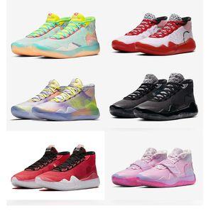 KD 12 EP Tante Perle Was das Jubiläum Universität 12 s XII Oreo Basketball Schuhe Anthrazit Kevin Durant PE Turnschuhe