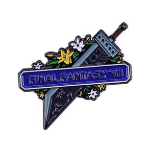 대망의 FF7 리메이크 기념 파이널 판타지 VII 버스터 소드 클라우드 핀 향수 게임 보석