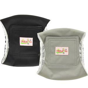 Ohbabyka 2Pack Pet Dog Maschio Cloth Diaper fisiologica sanitario Dog shorts Intimo Pant Pet Dogs Nappy copertina