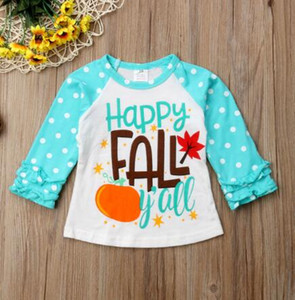 New Toddler Baby Kids For Boy Unicorn Fruit Print Long Sleeve Floral Side Cotton T-shirt Top Clothes