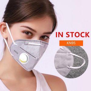 ¡GRAN VENTA! La nave libre de la máscara de filtro reutilizable polvo Máscara de respiración máscaras faciales protector respirador boca cara con vavle
