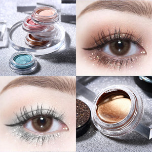 Gel Sombra Leezi Magic Cube Jelly Eye Líquido Luminoso Sombra Polarização Destaque placa monocromática Eyeshadow