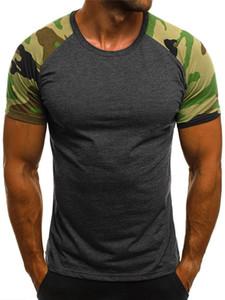 Dünne dünne Sport Herren Designer-T-Shirts Quick Dry Sommer-Kurzschluss-Hülsen-T-Shirts beiläufige Kontrast Gym Designer Tops