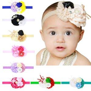 Flower Hair Band Headband Opaska Flower Dla Dziewczynki Christmas Bandeau Ties Accesorios Cabello Baby Girl Cintas Para El Pelo